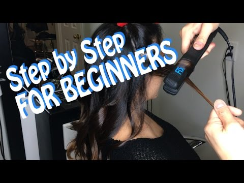 HOW TO Curl Hair with a STRAIGHTENER (For BEGINNERS) ** HAIRSTYLIST Breakdown** @1Chair1Mirror