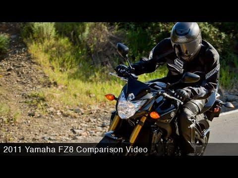 MotoUSA Middleweight Street Bike Shootout:  2011 Yamaha FZ8
