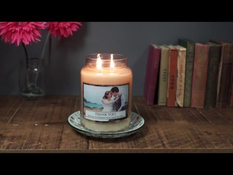 Personalised Village Candles