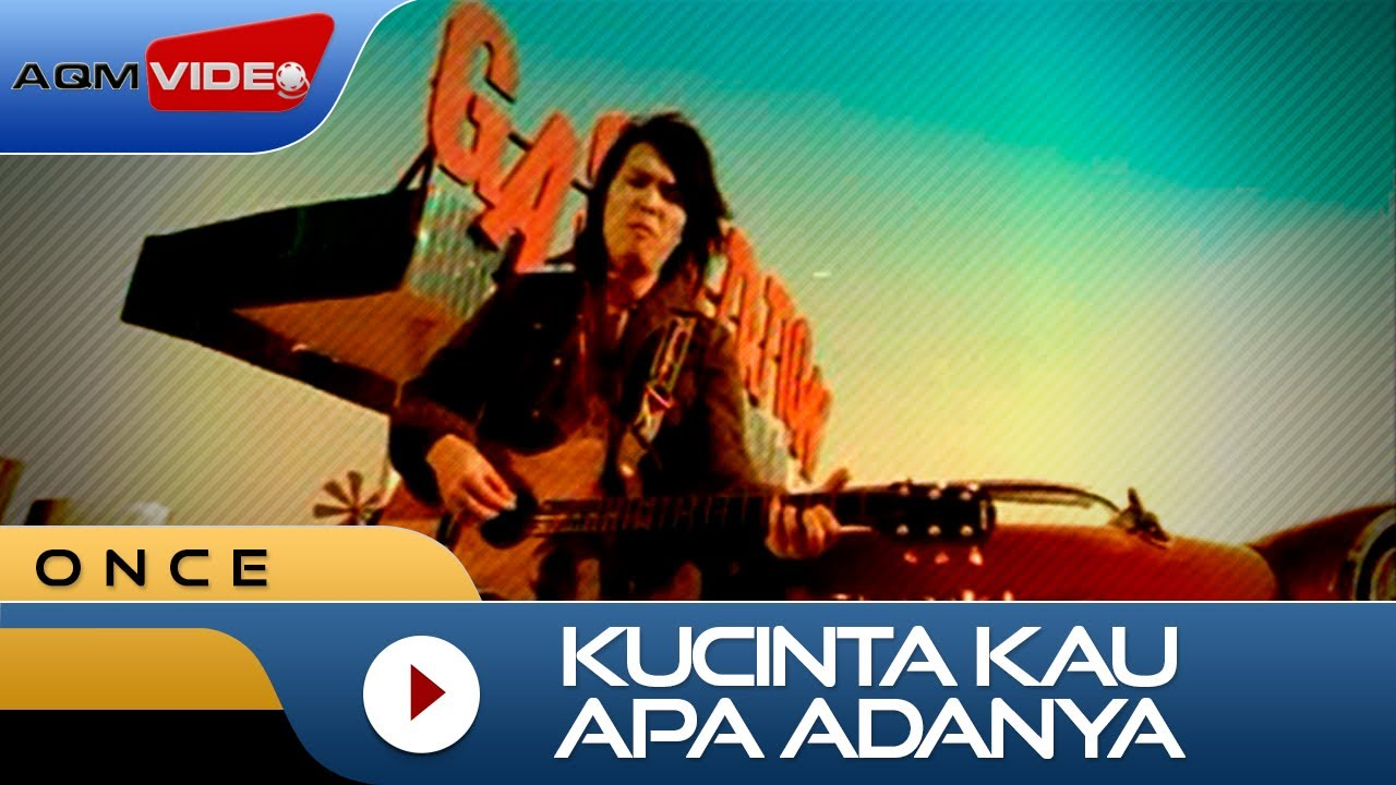 Download Once - Kucinta Kau Apa Adanya | Official Video MP3 Gratis