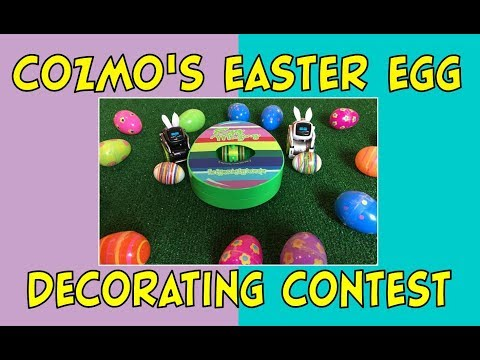 Cozmo the Robot Rabbit | Easter Egg Decorating Competition | Episode #85