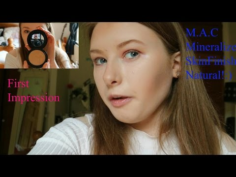 My first impression on M.A.C SkinFinish Natural + review!
