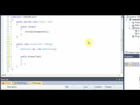 C# - How to Add Tabs to a Web Browser