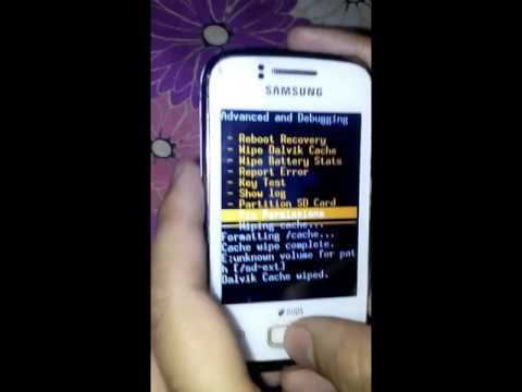 How to install CWM in Galaxy Y gt s6102 and install kitkat rom