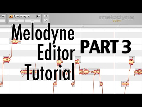 Melodyne Editor - part 3 - Tuning Doubled Vocals, Creating Harmonies, Scale Detective