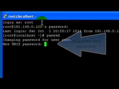 How to: Change password in UNIX/Linux