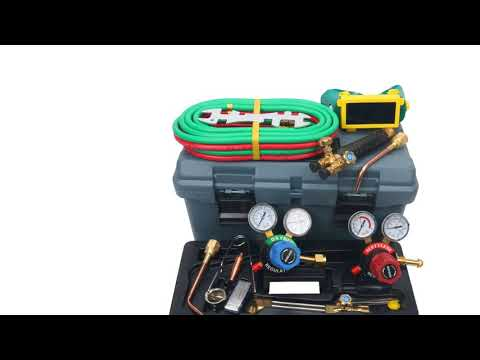 8milelake Victor Type 250 System Heavy Duty Gas Welding and Cutting Set, G250-60-510LP ...