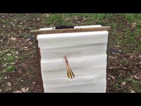 Cheap Compressed Foam Archery Target