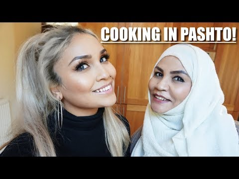 MAKING KEBABS WITH MY MAMA IN PASHTO! | ENGLISH SUBTITLES