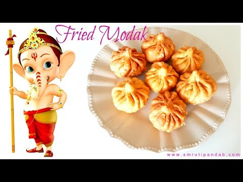 How to make Marathi Style Fried Modak at home for Ganesh Chaturthi