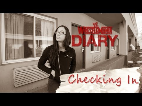 WrestleMania 29 Diary - AJ Lee visits her old home: WWE.com Exclusive, April 3, 2013