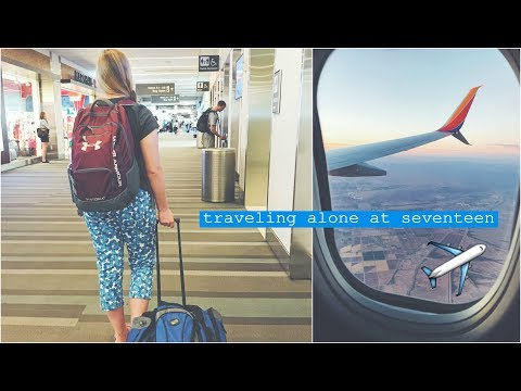 flying across the country alone -  at seventeen | cat's corner