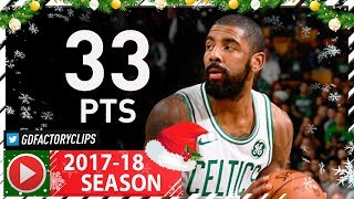 Kyrie Irving Full Highlights Vs Heat (2017.12.20) - 33 Pts