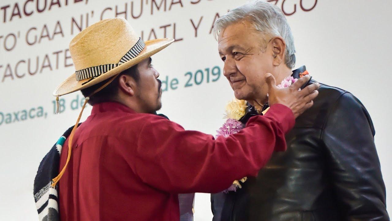 Diálogo con pueblos indígenas, desde Putla Villa de Guerrero, Oaxaca.