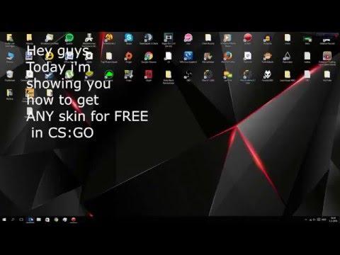 How to get FREE CS:GO Skins! (NO WEBSITES) Works JUNE 2016!