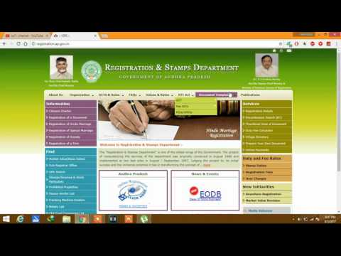 how to check andhra pradhesh land record details with in 10 seconds
