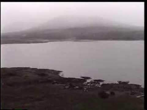 Journey across Mull island to Iona, Scotland