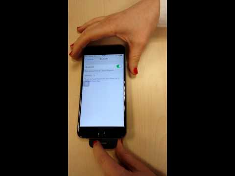 How to pair Phonak EasyCall with iPhone