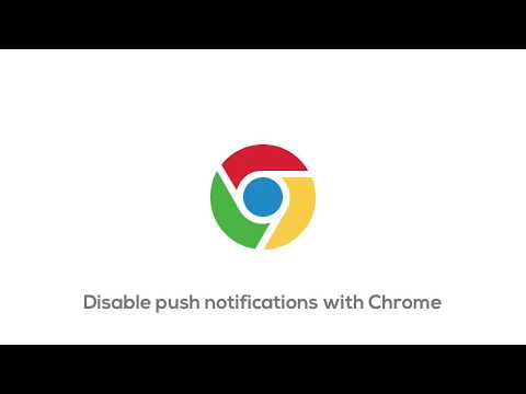 How To Disable Push Notifications On Chrome