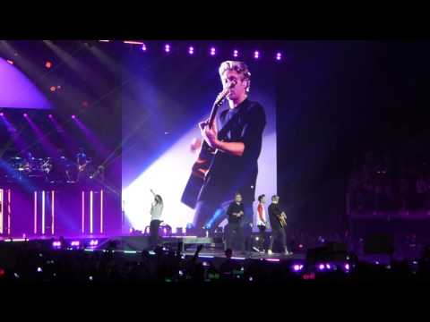One Direction -  Liam talking + Girl Almighty - London, The O2 Arena - 28/09/2015