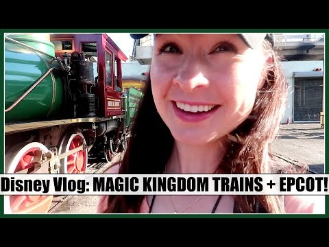 DISNEY VLOG: MK Steam Trains Tour, EPCOT + Pirates & Pals Fireworks! | Spring 2018, Day 9