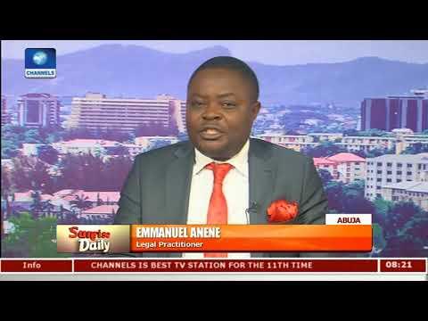 APC Government Not Fighting Corruption - Emmanuel Anene Pt 1 | Sunrise Daily |