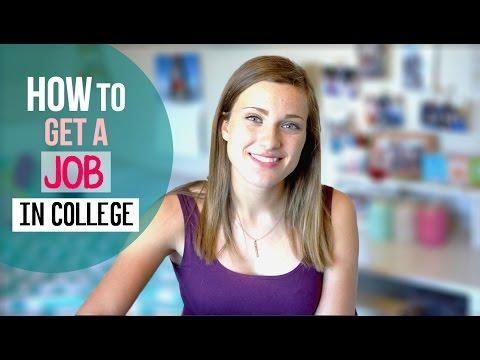 COLLEGE JOBS & INTERNSHIPS // Tips + Tricks