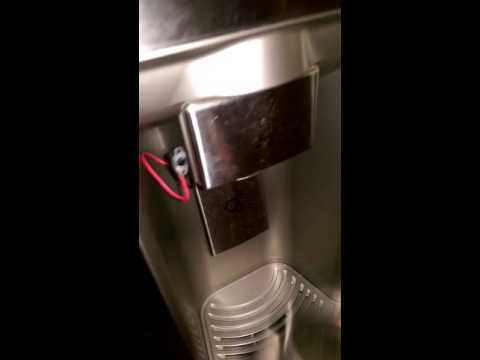 LG refrigerator water dispenser switch modification