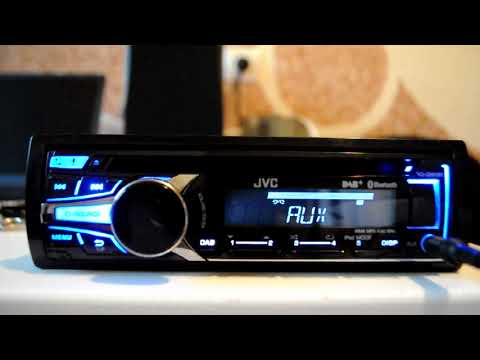 JVC KD-DB95BT CD/MP3 Car stereo with Front USB/AUX input and built in Bluetooth