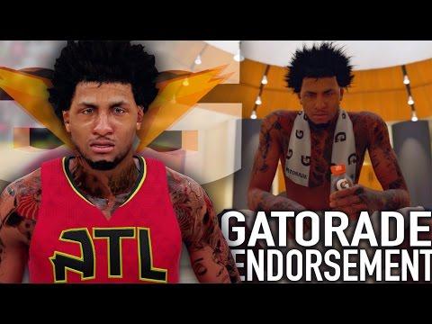 NBA 2K16 MyCAREER S3 - Official Gatorade Endorsement Commercial!