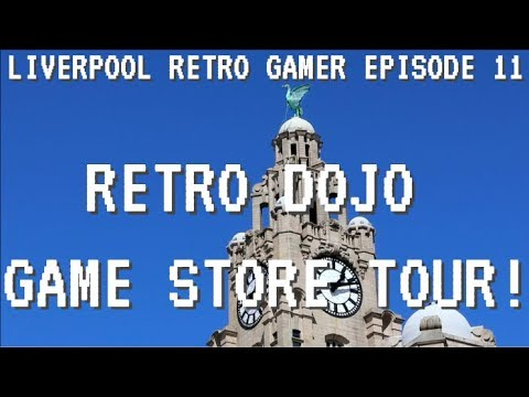 LRG EPISODE 11 - RETRO DOJO Liverpool Game Store Tour!
