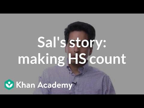 Sal Khan's story: Making high school count