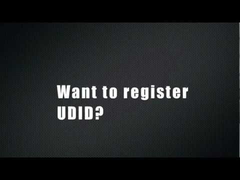 REGISTER UDID!!!!!!