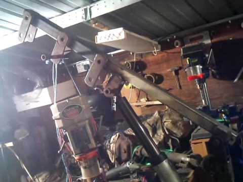 Homemade hydraulic crane part 2
