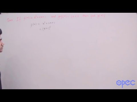S1 Q50 (f(x) and gof(x) are given. Find g(x)?)