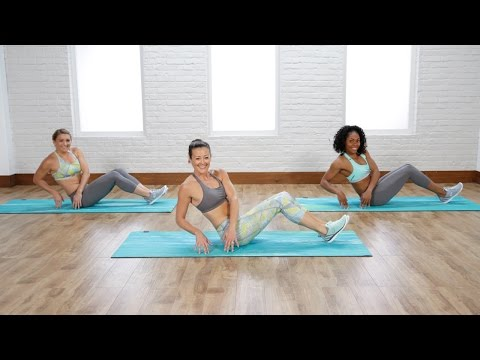 5-Minute Lower-Abs and Obliques Workout   Class FitSugar