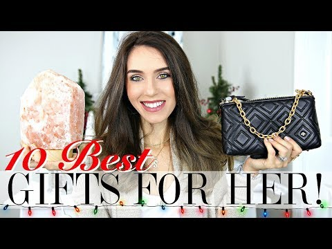 Top 10 BEST Christmas Gifts for HER | Holiday Gift Guide 2017
