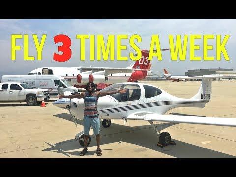 Flight Training: How Often Do I Need To Fly Per Week?