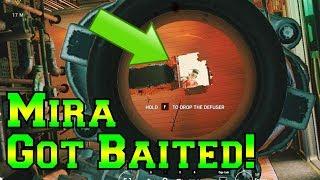 I Baited Mira Out! - Rainbow Six Siege