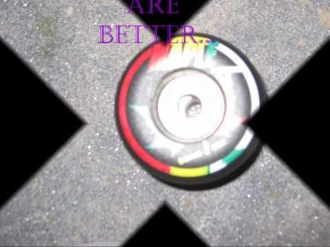 How to  customize skateboard wheels...