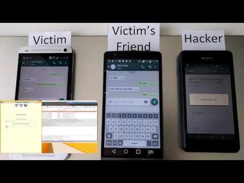 WhatsApp SS7 attack