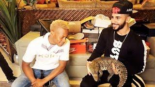Crocodile Prank Gone Wrong w/ Silento & Adam Saleh