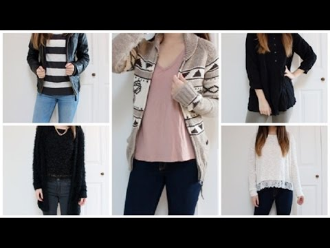 Cute and Casual Outfit Ideas! Winter/Spring