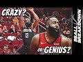 Is James Harden CRAZY Or A GENIUS For His One Legged Shot
