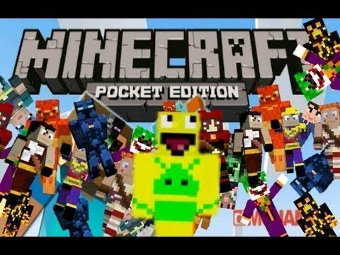 How to get skins for minecraft PE for android free
