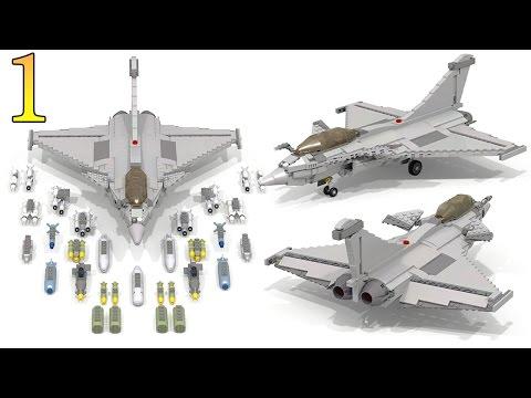 How To Build Lego DASSAULT RAFALE (Part 1)