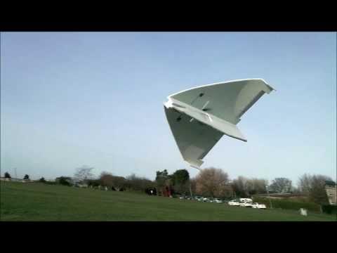 Slow flying Epp delta Rc plane