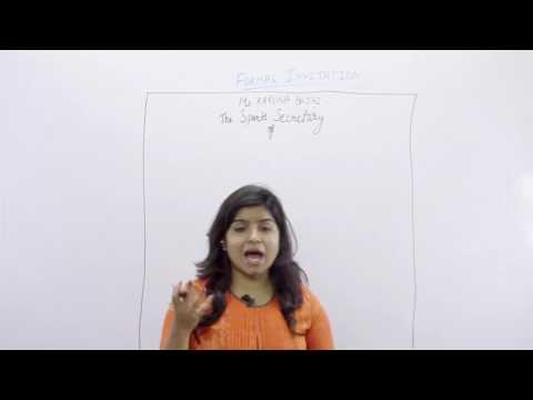 English Formal & Informal Invitation by Bhumika Chawala