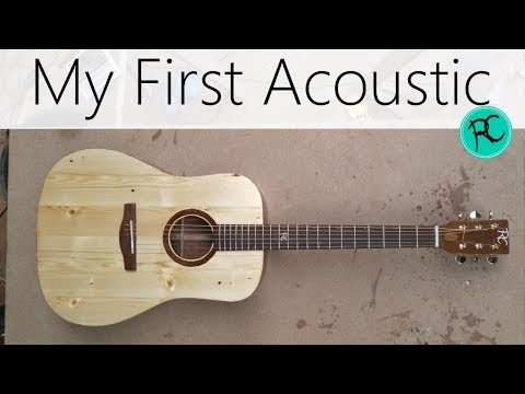 Acoustic guitar from reclaimed wood - 'The Scrapnought'