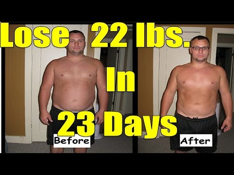 EMERGENCY Diet: Lose 20 Pounds in 3 weeks or... 22 lbs. in 23 days like he did
